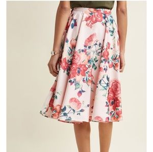 Brand new-Below knee full skirt